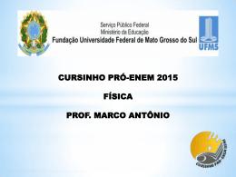 Apresentação do PowerPoint - Cursinho Pró