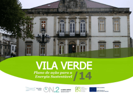 Vila Verde - Covenant of Mayors
