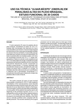 """ulnar-bíceps"" (oberlin) - Associação Catarinense de Medicina"