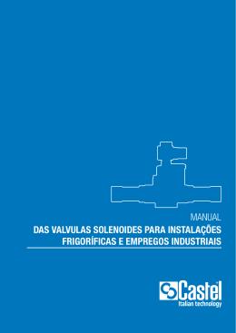 manual das valvulas solenoides para instalações frigoríficas e