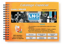 Catálogo Especial