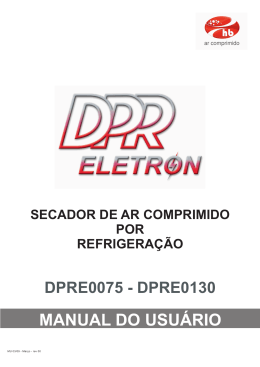 Manual secador 2009 - dpr port- 0075-0500.cdr