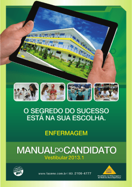Manual do Candidato Enfermagem