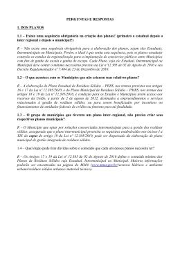 EDITAL DE CHAMADA PÚBLICA SRHU/MMA n.º 001/2011