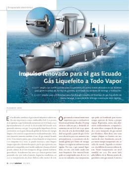 Impulso renovado para el gas licuado Gás Liquefeito a Todo Vapor