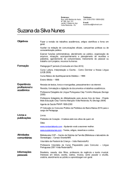 Suzana da Silva Nunes - Learn Portuguese Now