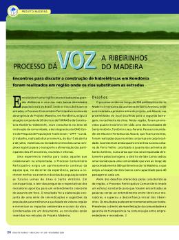 Processo dá voz a ribeirinhos do Madeira