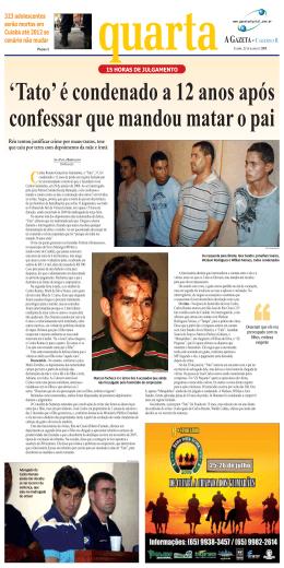323 adolescentes serão mortos em Cuiabá até
