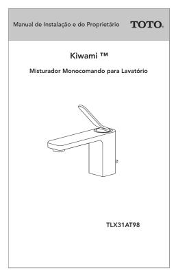 KIWAMI™ Misturador Monocomando