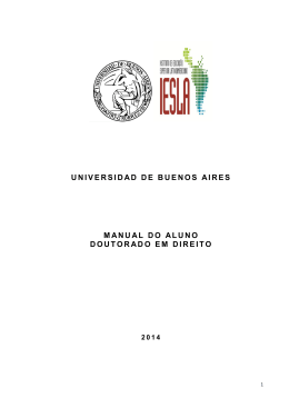 universidad de buenos aires manual do aluno doutorado
