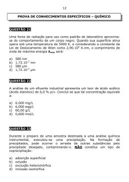 Caderno 22 - Químico