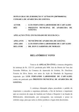 decisão do tribunal na íntegra - Instituto Brasileiro de Fluência