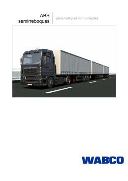 ABS semirreboques para múltiplas combinações