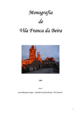 Monografia de Vila Franca da Beira