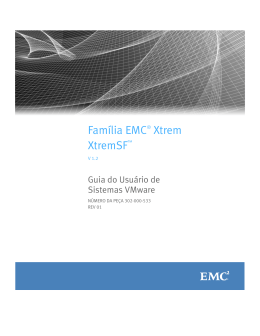 XtremSF User Guide for VMware Systems
