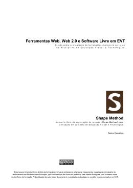 shape type - Ferramentas Web, Web 2.0 e Software Livre em EVT