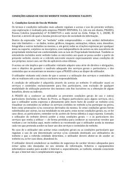 CONDIÇÕES GERAIS DE USO DO WEBSITE YOUNG BUSINESS