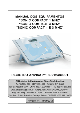 manual sonic compact 3mhz