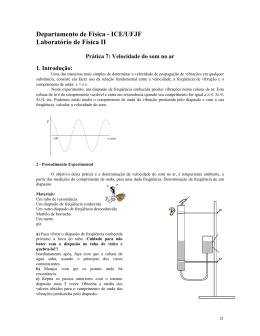 Prática 7 - Departamento de Física UFJF