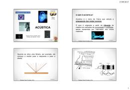Física - Acústica