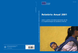 Relatório Anual 2001 sobre a política de desenvolvimento