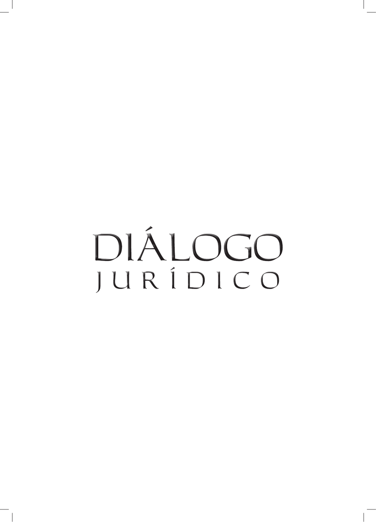 fa0ddbe08 Revista Diálogo Jurídico - n° 11 - 2011