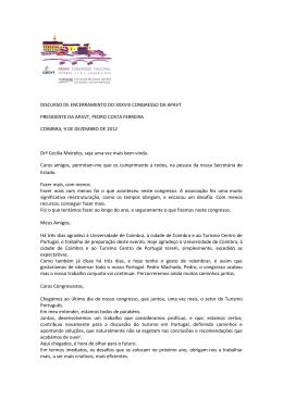 Drª Cecília Meireles, seja uma vez mais bem-vinda