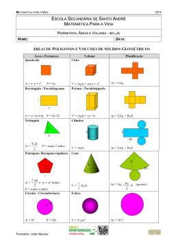 1 escola secundária de santo andré matemática para a vida