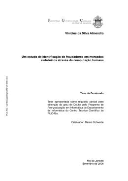 Vinicius da Silva Almendra Um estudo de identificação de