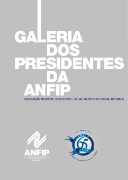PDF: Galeria dos Presidentes da ANFIP