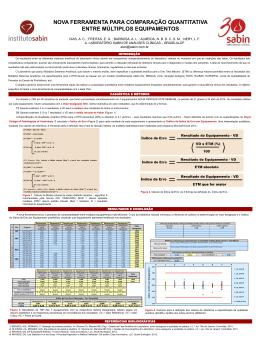 nova ferramenta para comparação quantitativa