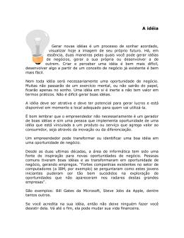 A idéia - Professor Cezar A Oliveira