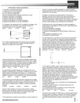 óptica geométrica - professorpanosso.com.br