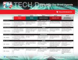 Technology Day Brasil Agenda