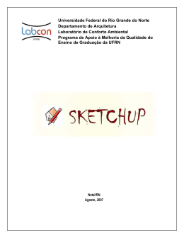 sketch up6 - LabCon-UFRN