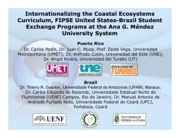 Internationalizing the Coastal Ecosystems Curriculum, FIPSE United