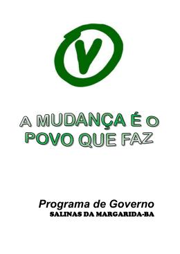 proposta DE GOVERNO 43
