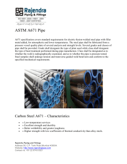 ASTM A671 Pipe